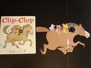 Clip Clop Flannel