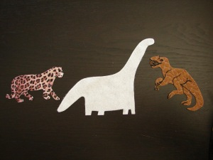 Jaguar and Allosaurus