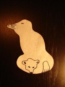 Seal polar bear
