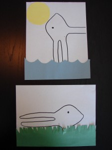 Duck Rabbit Craft
