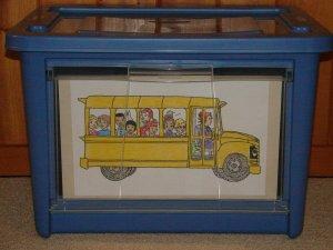 Bus bin photo