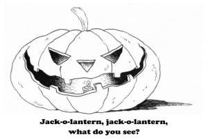 Jack o lantern what do you see