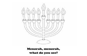 Menorah what do you see