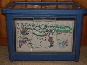 Winter bin photo