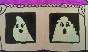 10 Ghosts with velcro
