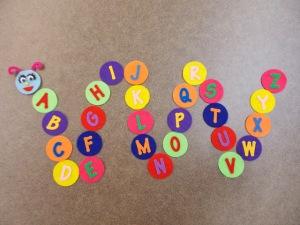 Letter Caterpillar