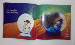 Mouse finding a snowglobe (this is my favorite!)