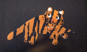 Mommy tiger