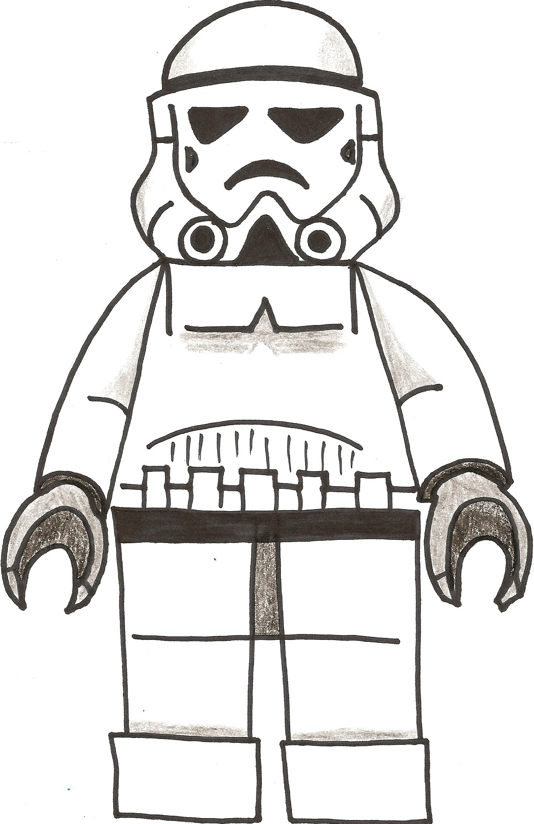 stormtrooper coloring pages wwwimgkidcom the image