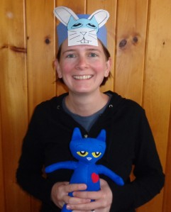 Pete the Cat Easter Headband