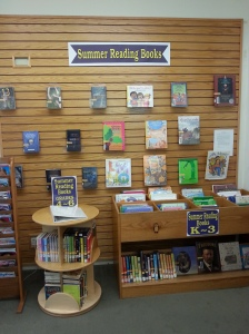 Summer Reading Book Display K6