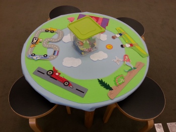 Felt Board Table (1)