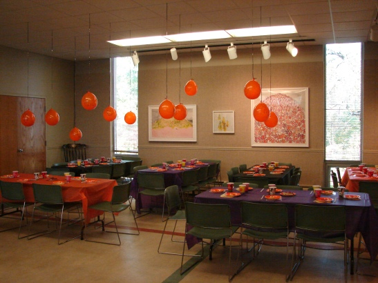Halloween Party Room