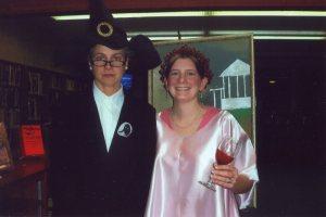 Lisa and Joanne Harry Potter