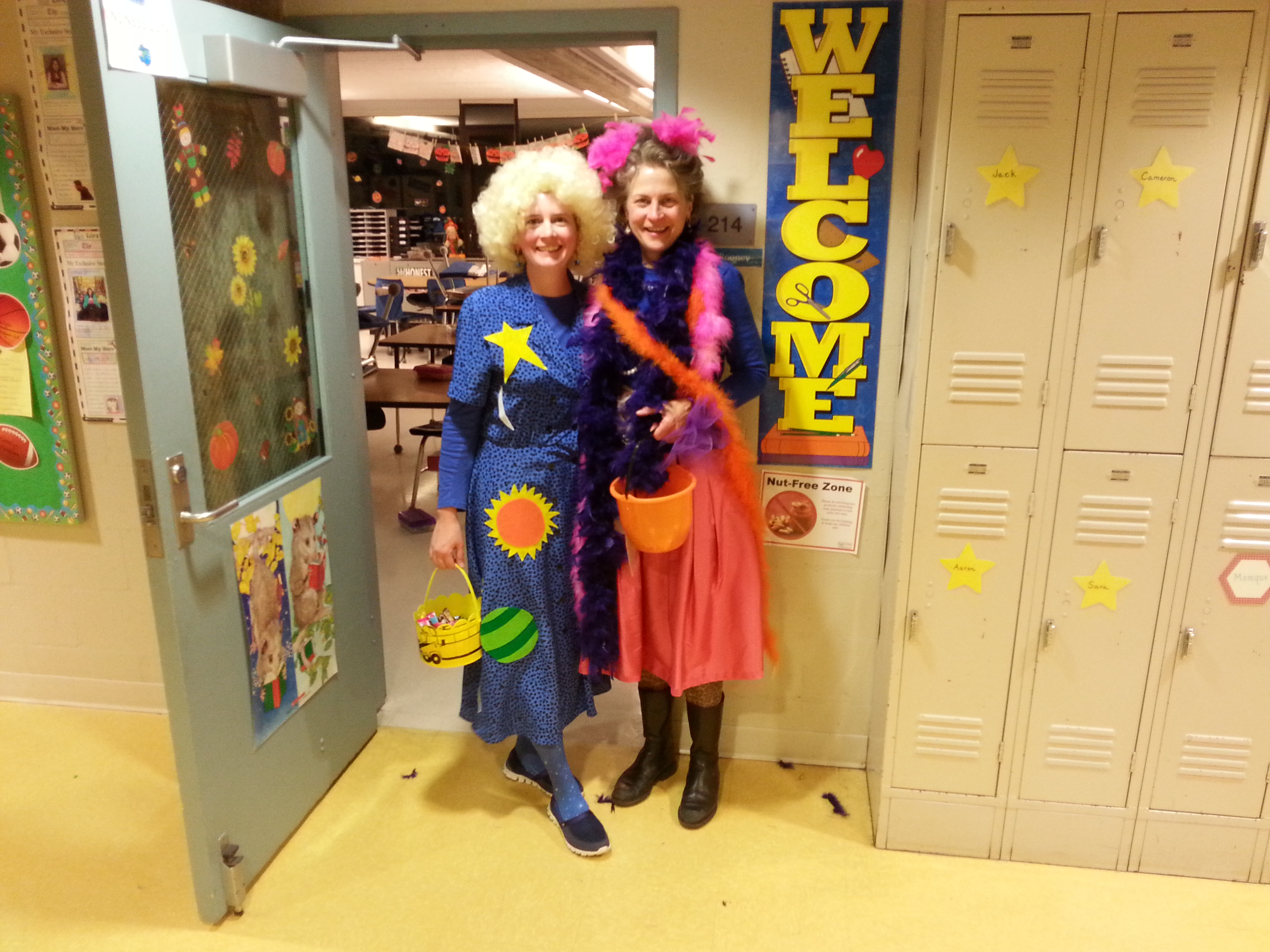Ms Frizzle and Waldo Ms Frizzle and Fancy Nancy  sc 1 st  Thrive After Three & Pre-K Halloween Party | Thrive After Three
