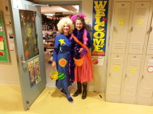 Ms Frizzle and Fancy Nancy