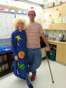 Ms Frizzle and Waldo
