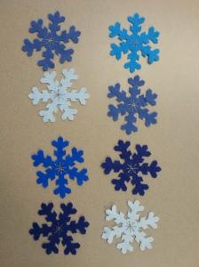Olaf 8 snowflakes