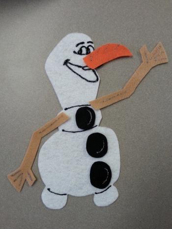Olaf's 123 Felt