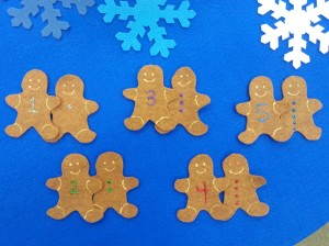 Winter Gingerbread Felt