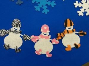 Winter Snowman Felt