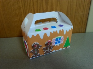 Elf Gingerbread House Oriental Trading