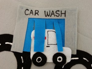 Felt Table Car Wash