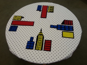 Superhero Felt Table (4)