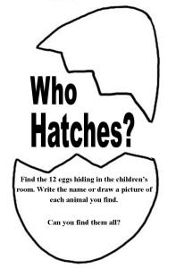 Who Hatches