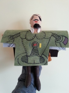 You Can Do Anything Daddy Pirate Puppet Costumes Robot Gorilla Pirates from Mars